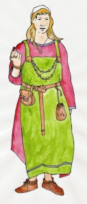 Anglo-Saxon dress