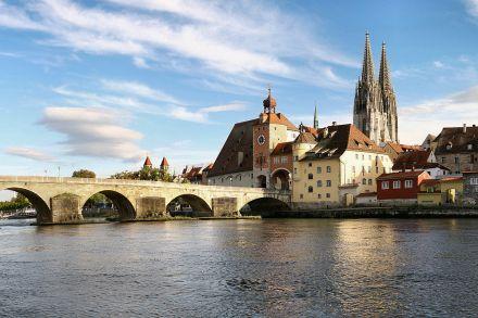 The Danube at Regensburg