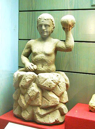 Rock-born Mithras