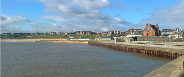 Gorleston Cliffs from south pier