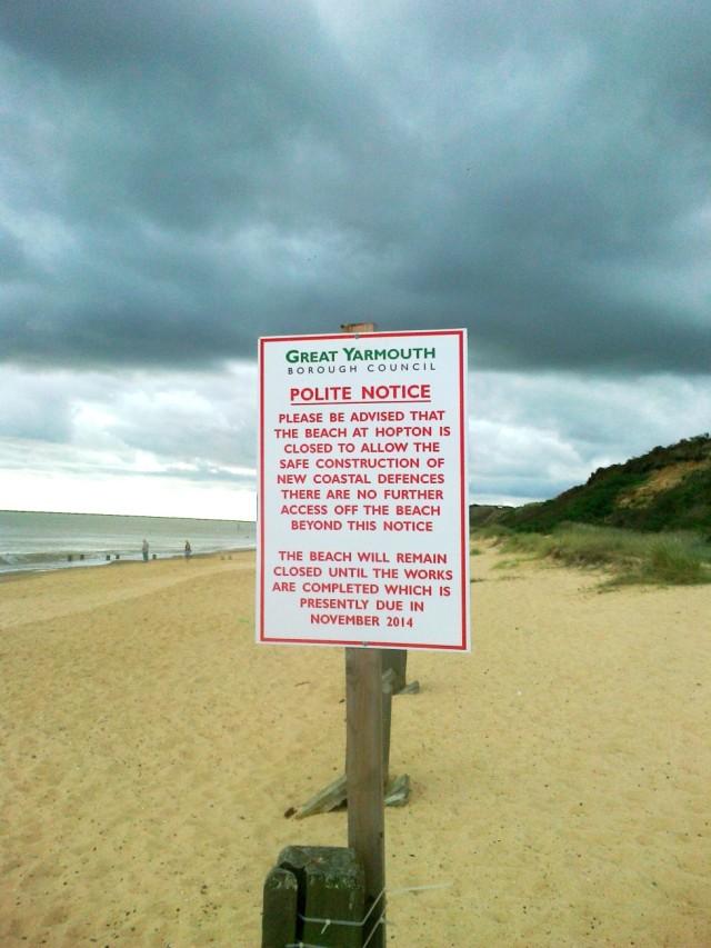 GYBC Polite Notice