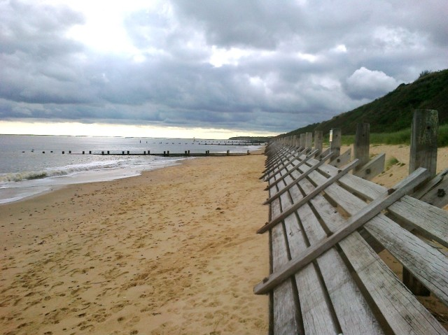 Sea Defences at Corton
