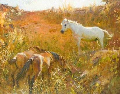 Munnings Ponies