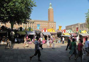 Norwich Market & City Hall