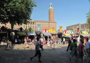 Norwich Market & City Hall