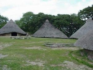 Iron Age Round Houses
