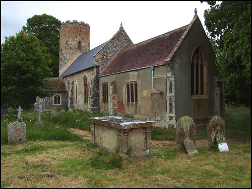 Burgh Castle Church SS Peter and Paul
