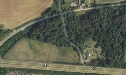 Dog Lane, Easton, Satellite Photo