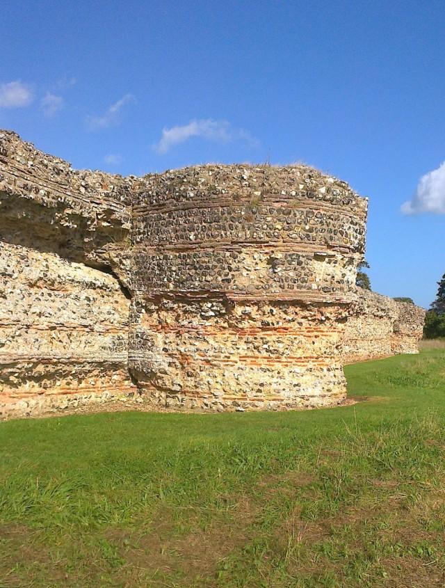 East Wall Roman Fort Burgh Castle