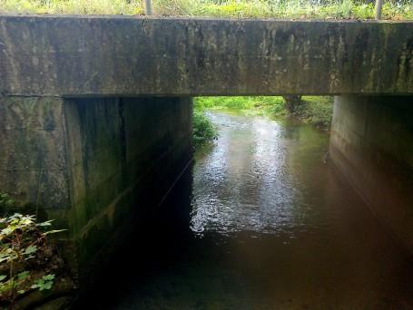 Bridge over the Tud at Easton