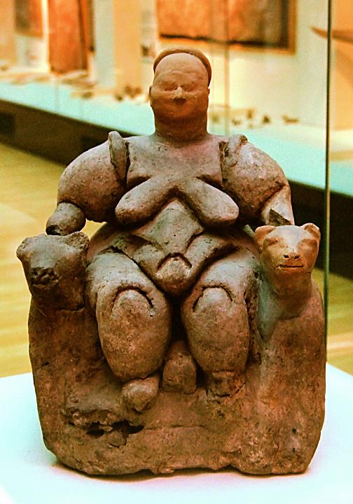 Seated Goddess of Catalhuyuk