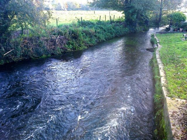 River Tud looking eastward