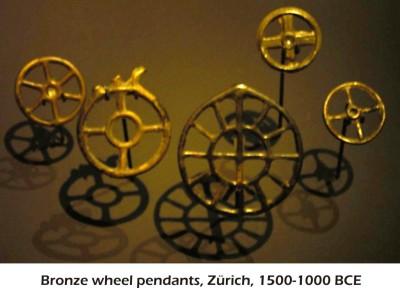 Bronze Wheels Zurich