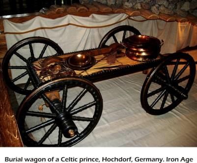 Hochdorf Celtic Burial Wagon