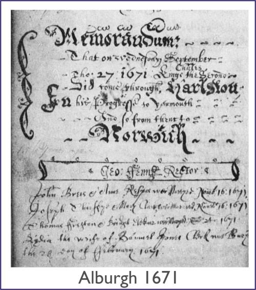 Alburgh 1671