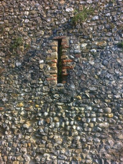 An Arrow Slit in Norwich Walls
