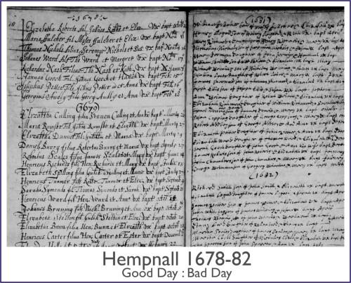 Hempnall 1678