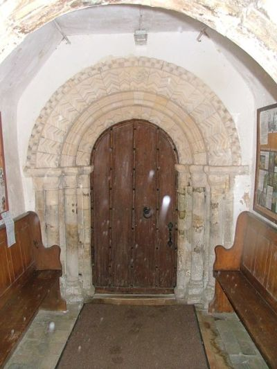 Thurton Church door