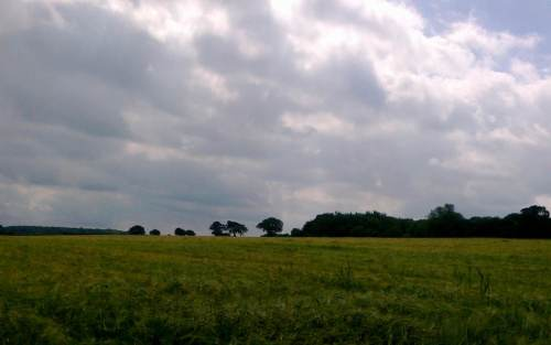 Ridge and Furrow Clouds at Saxlingham Nethergate