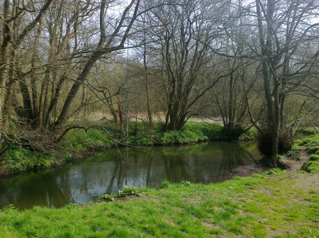 River Tas at Smockmill Common, Saxlingham