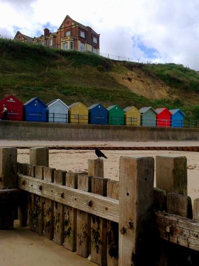 Beach huts at Mundesley