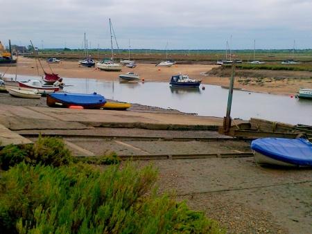 Fishing boats at Wells
