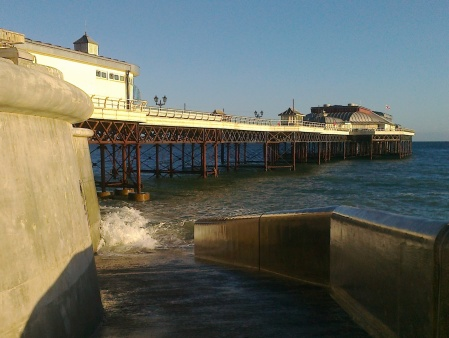 High tide at Cromer