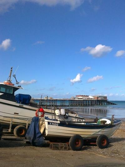 Boats at Cromer