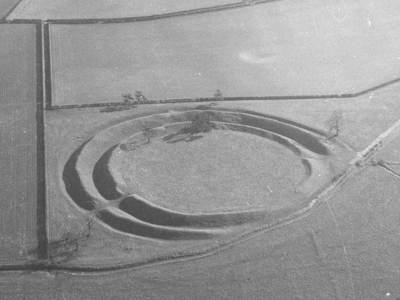 Warham Camp Aerial View