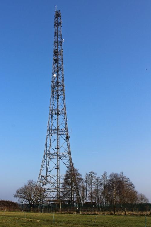 MOD Radio Mast at SHX