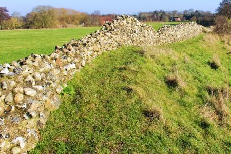 North wall Venta Icenorum