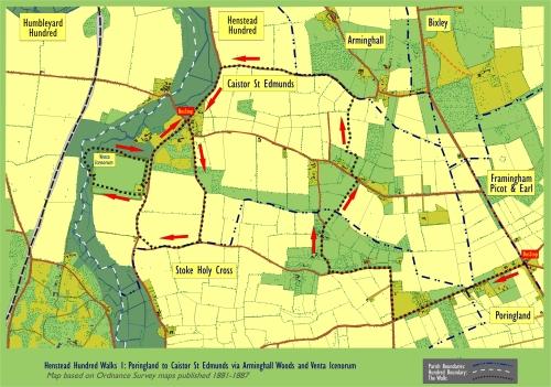 poringland-to-venta-icenorum-via-arminghall-woods