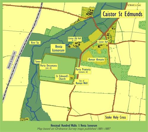 Map venta-icenorum-walk-1