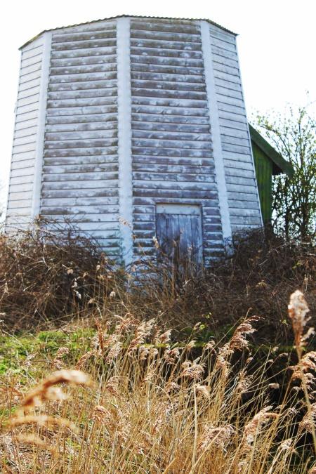 Tunstall Dyke Smock Mill up close