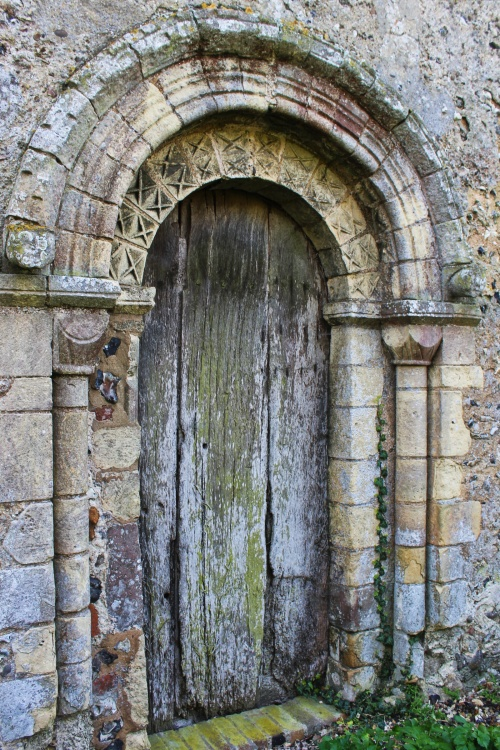 Hellington Church north door