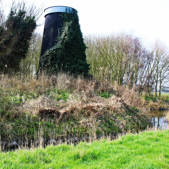 Tunstall Dyke Tower Mill from north