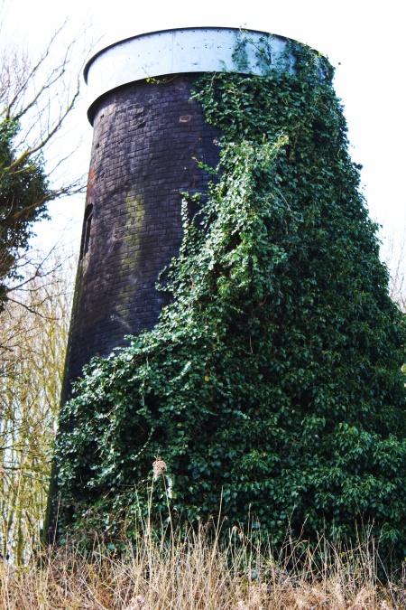 Tunstal Dyke Tower Mill close up