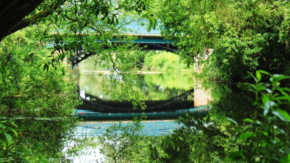 Bridge over Wensum at Norwich