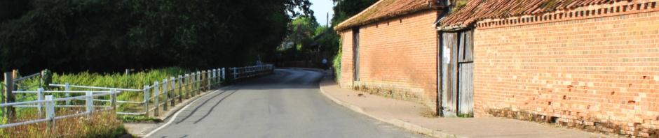 The Street, Saxlingham