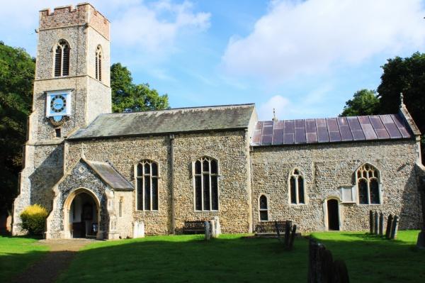 St Mary's church, Saxlingham