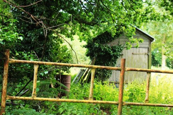 Gate on a huh