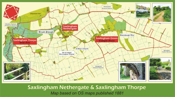 Saxlingham_Map_with_Photos