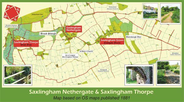 Saxlingham_Map_with_Photos