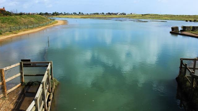 Dunwich River at Walberswick
