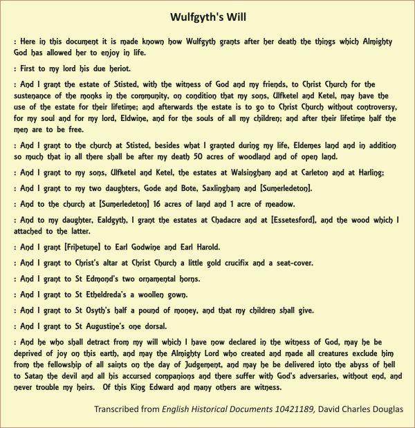 Wulfgyths_Will
