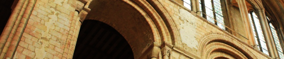 Norwich Cathedral Romanesque arches