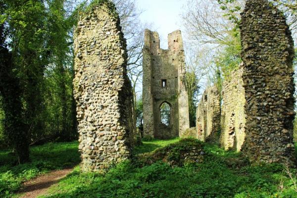 St Mary's ruins, Saxlingham Thorpe