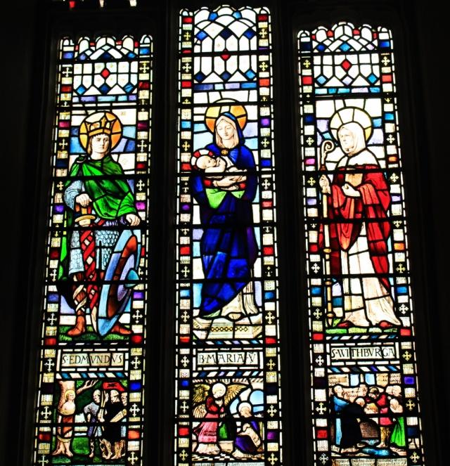 Edmund Mary St Withburga Saxlingham Nethergate