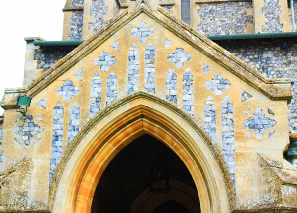 Porch of Blickling Church
