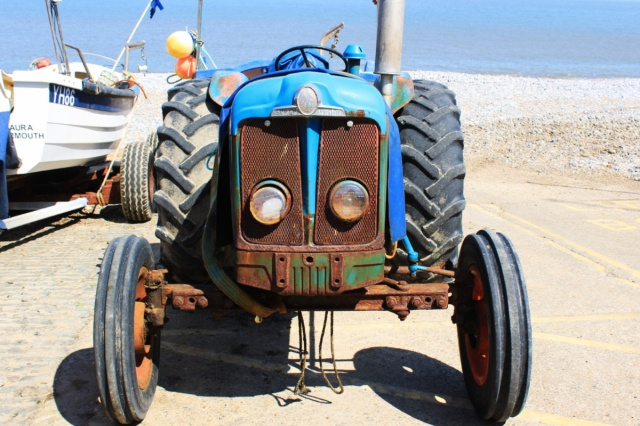 Trevor the Tractor at Cromer